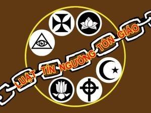 Image result for Luật Tín ngưỡng Tôn giáo do Quốc hội CS ban hành ngày 18-11-2016