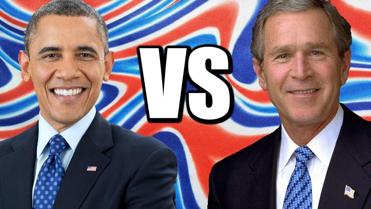 Obama vs Bush