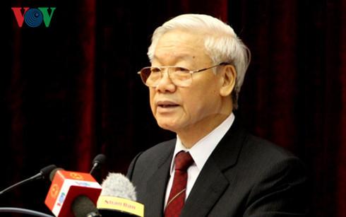 TBT Nguyễn Phú Trọng. Nguồn: internet