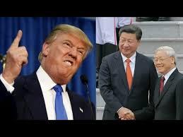 Donald Trump, Tập Cận Bình và Nguyễn Phú Trọng. Ảnh: internet