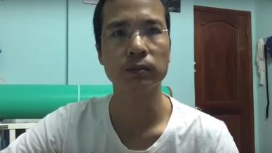 Ông Hoàng Dũng đề nghị đi tù thay cho bà Trần Thị Nga với lý do cũng có hoạt động giống bà. Ảnh: Hoàng Dũng