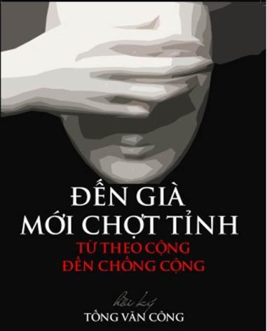 Ảnh bìa sách Hồi Ký Tống Văn Công. Nguồn: internet