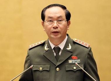 Đại tướng, GSTS, Chủ tịch nước Trần Đại Quang. Ảnh: internet