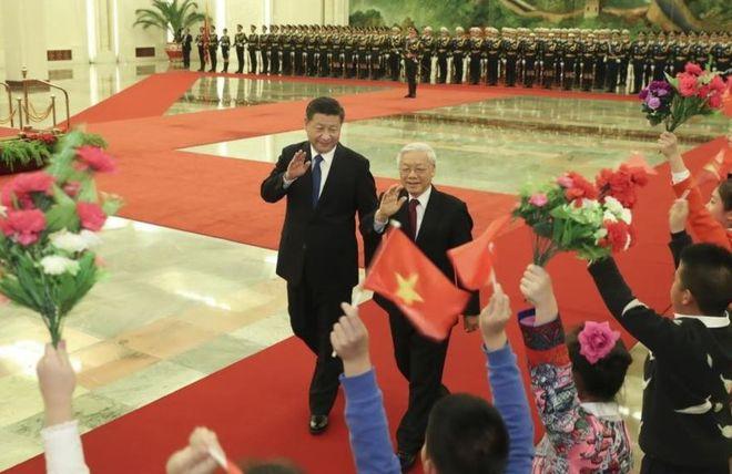 Tổng bí thư Đảng CSVN Nguyễn Phú Trọng thăm chính thức Trung Quốc từ ngày 12-15/01/2017. Ảnh: Tân Hoa xã.