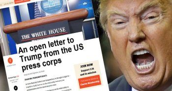 Thư ngỏ gửi cho Trump. Nguồn: internet