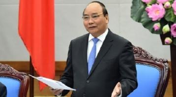 Thủ tướng Nguyễn Xuân Phúc phát biểu tại Hội nghị Chính phủ với địa phương. Ảnh: báo MTG