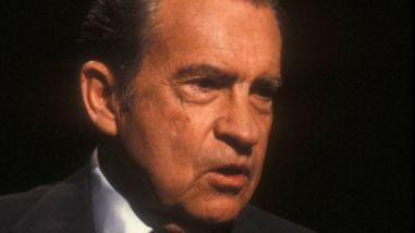 Richard Nixon. Ảnh: BBC