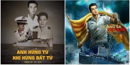 Ông Ngụy Văn Thà và những người lính VNCH đã bỏ mạng trong trận Hoàng Sa 1974. Nguồn: internet