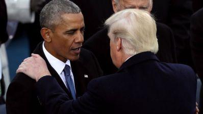 Tân tổng thống Hoa Kỳ Donald Trump đã tỏ ra có những chính sách trái ngược với người tiền nhiệm, ông Barack Obama, đặc biệt trong Hiệp định TPP. Ảnh: Joe Raedle/Getty