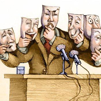 Ảnh minh họa: Tin giả, chính trị giả, chính sách giả. Nguồn: internet