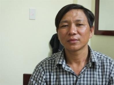 Ngư dân Nguyễn Xuân Thành - người đầu tiên phát hiện ống xả thải ngầm của Formosa đổ ra biển. Ảnh: Dân Trí