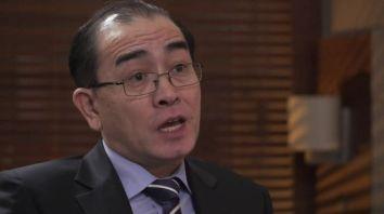 Thae Yong-ho nói ông tin Kim Jong-un sẽ dùng vũ khí hạt nhân. Ảnh: BBC