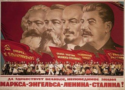 Các ông tổ cộng sản Liên Xô. Ảnh: internet