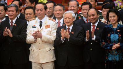 Ban lãnh đạo mới của Đảng Cộng sản Việt Nam sau Đại hội 12 năm 2016. Nguồn: Getty Images