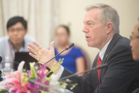 Đại sứ Mỹ tại Việt Nam Ted Osius. Ảnh: internet.