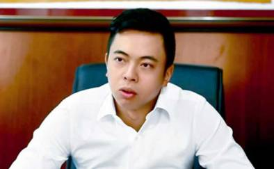 Ông Vũ Quang Hải, con trai của nguyên Bộ trưởng Công thương Vũ Huy Hoàng, thành viên Hội đồng quản trị kiêm Phó Tổng giám đốc Sabeco. File Photo