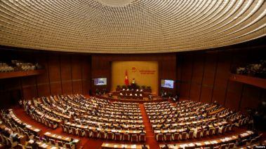 Lễ khai mạc kỳ họp thứ nhất Quốc hội khóa XIV, ngày 20/7/2016. Ảnh: Reuters.