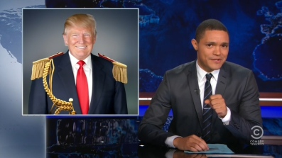 Trevor Noah from 'The Daily Show' compares Donald Trump to an African President