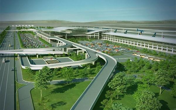 Dự án sân bay Long Thành. Ảnh: internet
