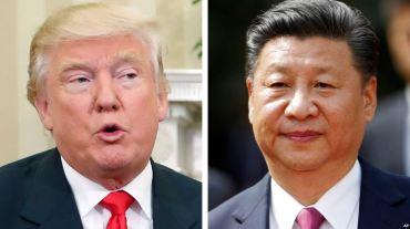 Tổng tống Mỹ Donald Trump và Chủ tịch Trung Quốc có cuộc điện đàm kéo dài hôm 9/2. Ảnh: AP