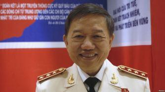 Bộ Trưởng Bộ Công An Việt Nam Tô Lâm. Ảnh: Reuters.
