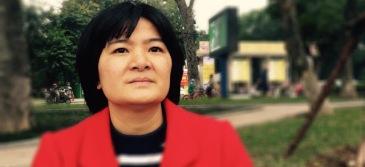 Bà Trần Thị Nga, nạn nhân của vụ bắt bớ gần đây nhất. Ảnh: internet