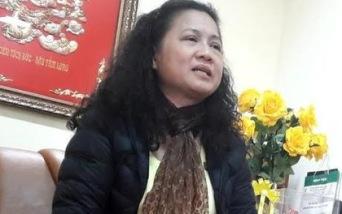 Bà Tạ Thị Bích Ngọc, Hiệu trưởng trường Tiểu học Nam Trung Yên.