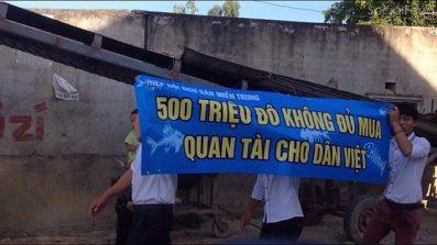 Người dân phản đối Formosa. Ảnh: JB Nguyễn Hữu Vinh/ internet.