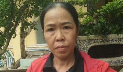 Bà Nguyễn Thị Ái. Nguồn: báo PLVN.