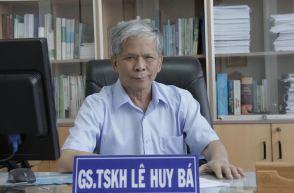 GS Lê Huy Bá. Ảnh: internet