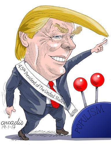 Chủ nghĩa dân túy đã đưa Trump trở thành tổng thống Mỹ thứ 45.
