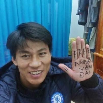 Tù nhân lương tâm Nguyễn Văn Oai đã bị bắt hôm 19/1/2017. Ảnh: internet