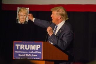 Donald Trump. Ảnh: Matt A.J. via CC 2.0