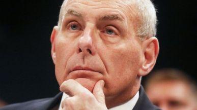 Bộ trưởng An ninh Quốc nội Mỹ John Kelly đã điều trần tại Hạ viện. Ảnh: Getty Images.