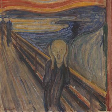 Tranh Scream của Evard Munch