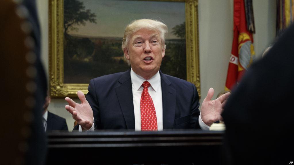 Tổng thống Hoa Kỳ Donald Trump. Ảnh: AP