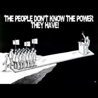 Người dân không biết quyền lực mà họ có. Nguồn: internet