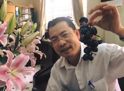 Phóng viên Xuân Nam, báo Tuổi Trẻ. Ảnh tác giả gửi tới.