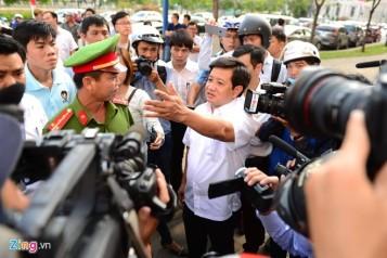 Ông Đoàn Ngọc Hải, phó chủ tịch quận I đang nổi đình, nổi đám mấy ngày qua. Nguồn: Zing