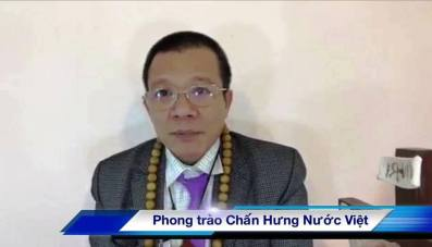 """Vũ Quang Thuận, Chủ tịch phong trào """"Chấn Hưng Nước Việt"""", một trong hai nhà bất đồng chính kiến mới vừa bị bắt. Ảnh: internet"""