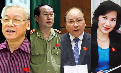 Image result for tội của bà Ngân, Phú Trọng, Đại Quang, Xuân Phúc là không hề nhỏ